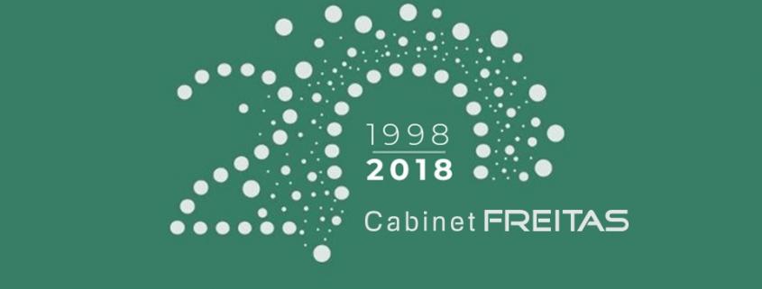 Le Cabinet Freitas a 20 ans