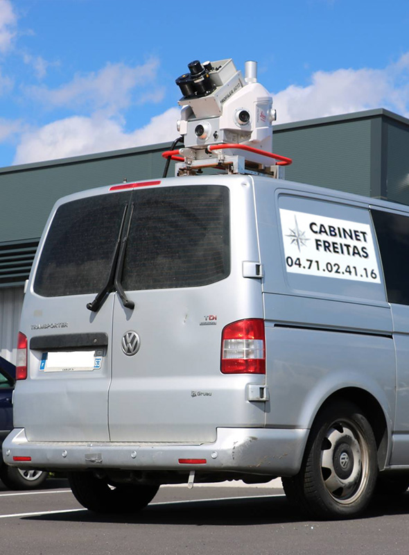 Mobile mapping - Cabinet Freitas