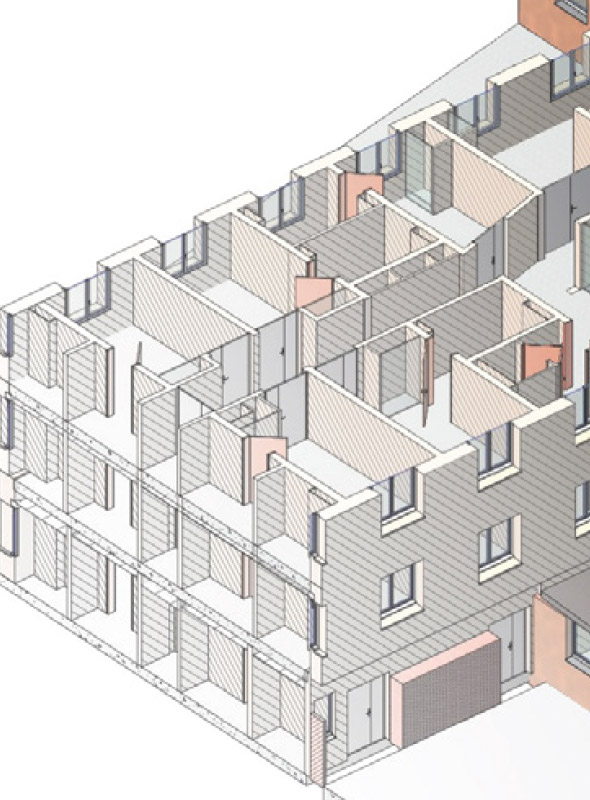 Maquette et rendus 3D - Cabinet Freitas